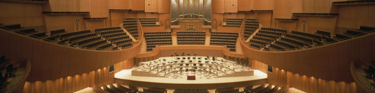 札幌地区大会の会場  提供:札幌コンサートホールKitara