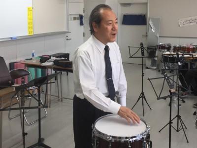 指導者講習会(打楽器)終了のお知らせ